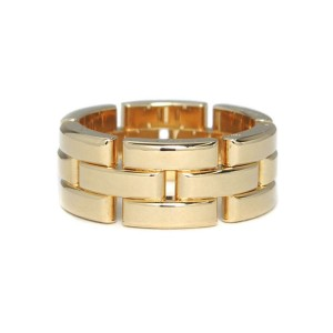 Cartier Maillon Panthere Ring 18K Yellow Gold Size 6
