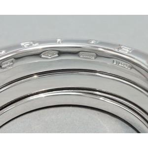 Bulgari B.Zero1 18K White Gold Ring Size 7