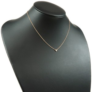 Tiffany & Co. Peretti 18K Rose Gold with 0.03ct Diamond Necklace