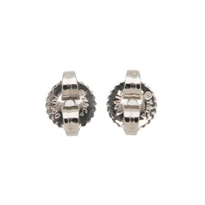 Tiffany & Co. Peretti PT950 Platinum with 0.10ctw Diamond By the Yard Earrings