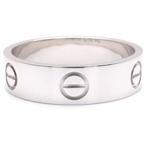 Cartier Love Ring 18K White Gold Size 8.25