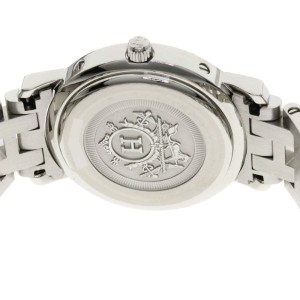 Hermes Clipper Nacre CL4.221 24mm Womens Watch