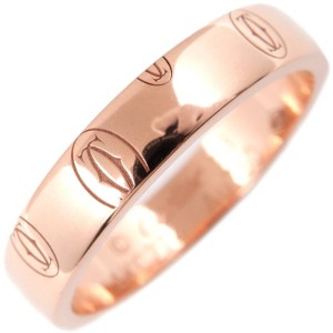 Cartier Happy Birthday 18K Rose Gold Ring Size 6.5