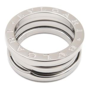 Bulgari B-zero 18K White Gold Ring Size 6