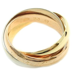 Cartier 18K Yellow Gold Ring Size 6
