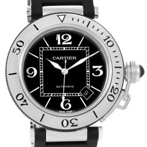 Cartier Pasha Seatimer W31077U2 40.5mm Mens Watch