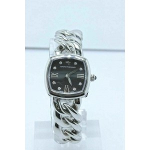 David Yurman Albion 23MM Stainless Steel Watch With Diamond Black Face
