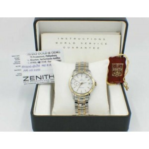 Zenith Elite Ref 53 0030 682 18K Yellow Gold & Stainless Steel Box  Papers