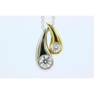 Hearts On Fire Mother Child Enduring Diamond Pendant Necklace 18k Gold 0.60 tcw