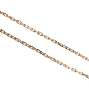 Authentic Cartier Baby Love Diamond Necklace K18 750 Rose Gold OM0165 Used F/S
