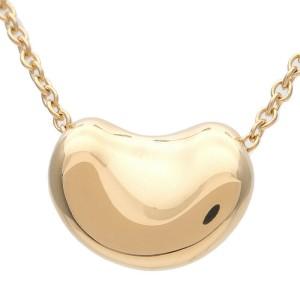 Tiffany & Co. Elsa Peretti Mini Beans Yellow Gold Necklace