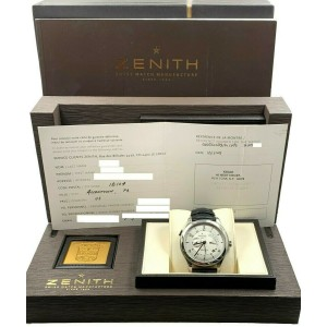 Zenith Grande Elite Dual Time 03.0520.683 that's the Stainless Steel Box Papers