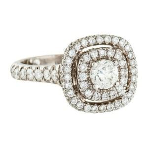 Neil Lane Engagement Ring with LEO Diamond 1.45 tcw