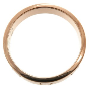 Authentic Cartier Mini Love Ring K18 Rose Gold #50 US5.5 HK11.5 EU50.5 Used F/S