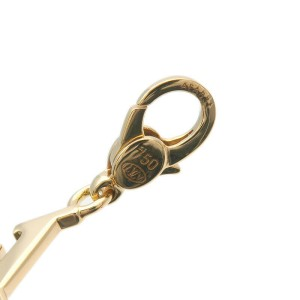 Authentic Louis Vuitton Charm de Monogram Jewelry Charm Yellow Gold Used F/S