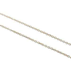 Authentic Tiffany&Co. Small Cross Necklace K18YG 750YG Yellow Gold Used F/S