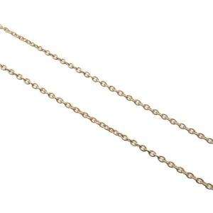 Authentic Tiffany&Co. Mini Cross Necklace Pendant K18 750 Yellow Gold Used F/S