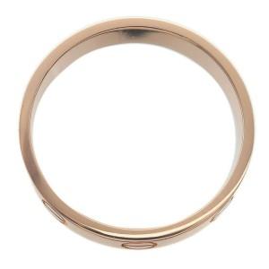 Authentic Cartier Mini Love Ring K18 750 Rose Gold #54 US7 HK15.5 EU54 Used F/S