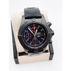 Breitling M13380 Avenger Skyland Limited Edition DLC Stainless Steel Box Papers