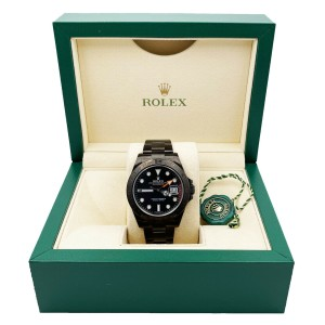 Rolex Explorer II 216570 Black Dial Black PVD Stainless Steel Box Booklet
