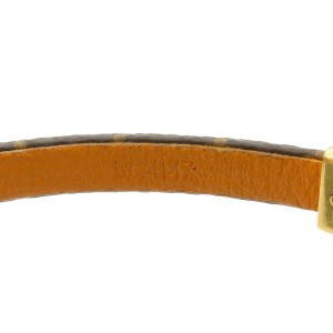Authentic Louis Vuitton Monogram Bracelet Crazy In Lock M6451 Used F/S