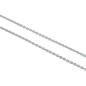 Authentic Tiffany&Co. By the Yard 1P Diamond Necklace 0.05ct Silver 925 Used F/S