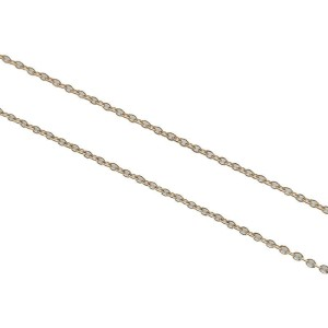Auth Tiffany&Co. By the Yard 1P Diamond Necklace 0.14ct Yellow Gold Used F/S