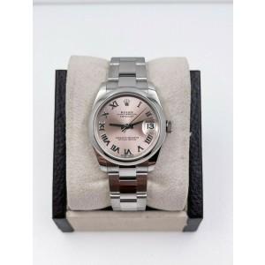 BRAND NEW Rolex 178240 Midsize Datejust Pink Dial
