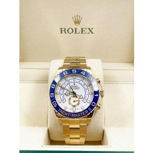 Rolex 116688 Yacht Master II Blue Ceramic 18K Yellow Gold