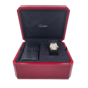 Cartier Roadster Ref 2524 18K Yellow Gold Box Papers