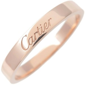 Authentic Cartier Engraved Ring
