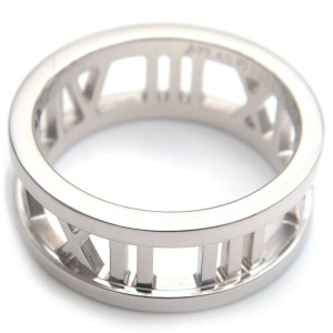 Authentic Tiffany&Co. Atlas Open Ring