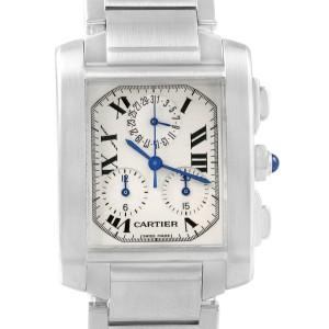 Cartier Tank Francaise W51001Q3 28mm Mens Watch