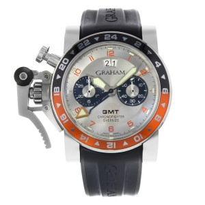 Graham Chronofighter 2OVASGMT.S01A.K10B 47mm Mens Watch
