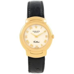 Rolex Cellini 6622 33mm Womens Watch