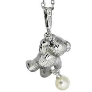 MIKIMOTO Silver Akoya Pearl Necklace