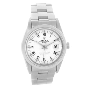 Rolex Date 15200 34mm Mens Watch