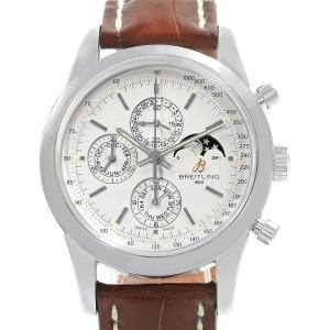 Breitling Transocean Chronograph A19310 43mm Mens Watch