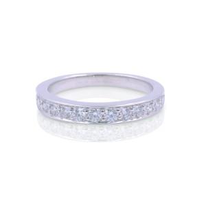 Tiffany & Co. Platinum with 0.25ct Diamond Ring Size 3.75