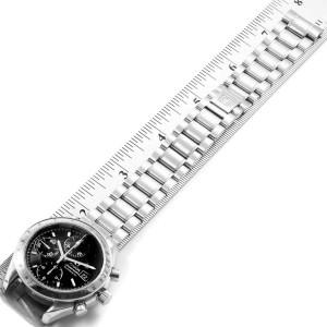 Omega Speedmaster Chronograph Black Dial Steel Watch 3513.50.00 Card