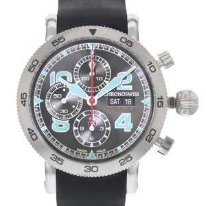Chronoswiss Timemaster CH-9043B-DB 44mm Mens Watch
