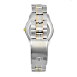 Tissot J376/476 2-Tone Gold Plated Sapphire Crystal Stainless Steel Men's Watch