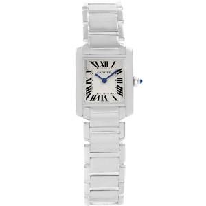 Cartier Tank Francaise W50012S3 25mm Womens Watch