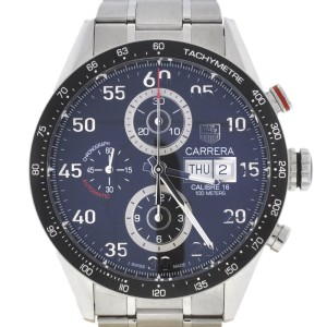 TAG Heuer Carrera Chronograph Stainless Steel Automatic Watch CV2A10