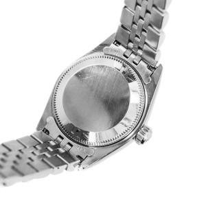 Rolex Datejust 69240 Blue Dial 18K White Gold Bezel SS Jubilee Ladies Watch
