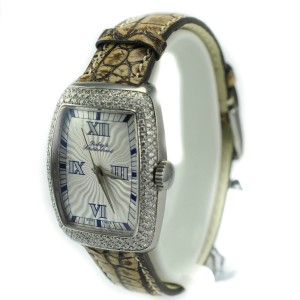 Dubey & Schaldenbrand 516 2.5 Ct Diamonds Silver Dial Automatic Women's Watch
