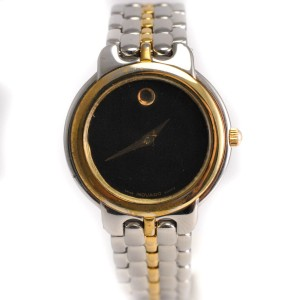Movado Two-Tone Women's 81-A1-833 Two Tone Stainless Steel Watch