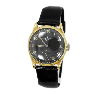 Ulysse Nardine Vintage 14K Gold Plated Automatic Men's Watch