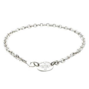 Tiffany & Co. New York 925 Sterling Silver Chain Necklace