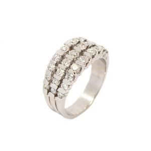 14K White Gold 1.26 ct. Diamond Ring